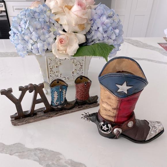 Cowboy Boot home decor